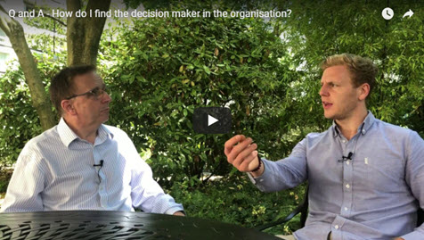 How Do I Find The Decision Maker In The Organisation?