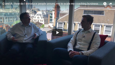 How Do I Introduce People Around Me To Scale My Coaching Business?